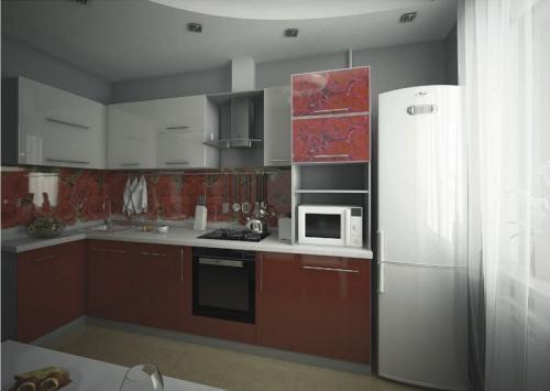 Кухни МДФ18