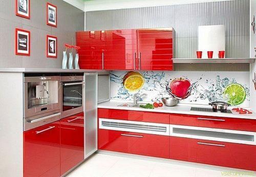 Кухня пластик 044