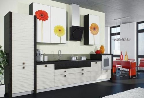 Кухня пластик 049