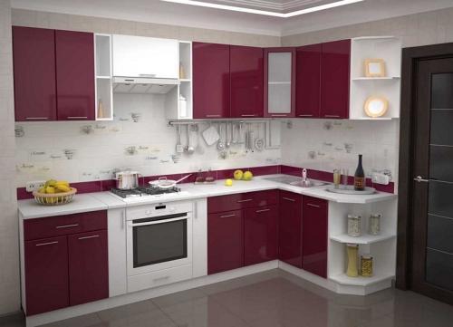 Кухня Эмаль 33