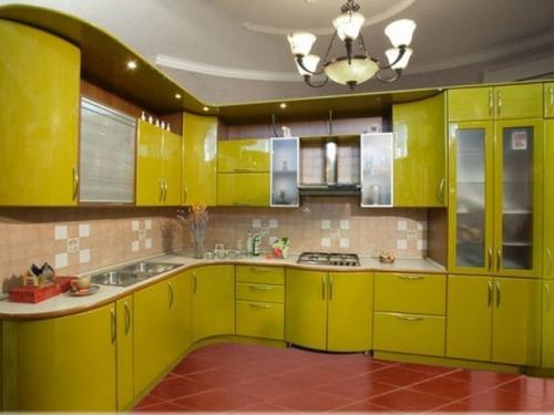 Кухня Эмаль 46