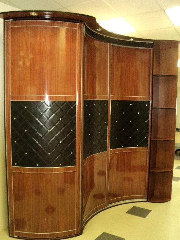 Сферические шкафы-купе еми - мебель.
